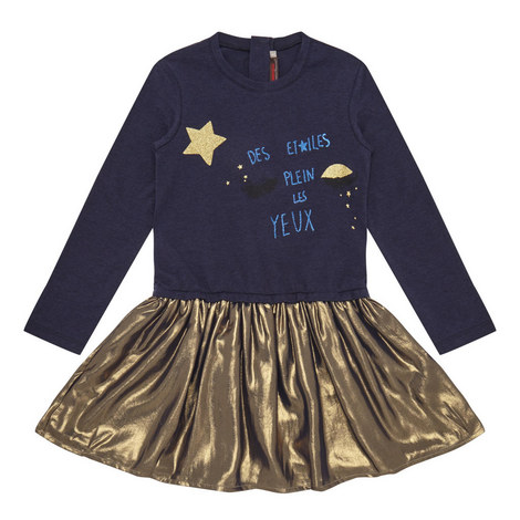 Metallic Dress Kids, ${color}