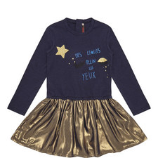 Metallic Dress Kids