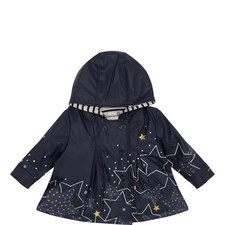 Star Print Coat Baby