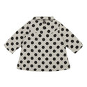 Polka Dot Woven Coat Baby, ${color}