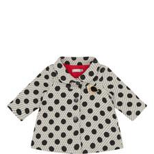 Polka Dot Woven Coat Baby