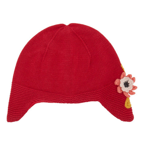 Flower Detail Hat Baby, ${color}