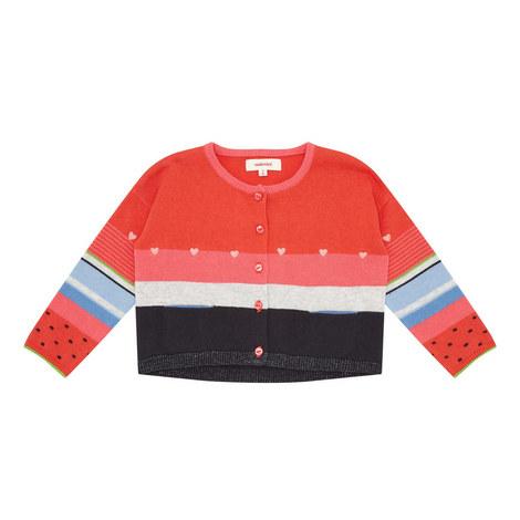 Multi-Stripe Cardigan, ${color}