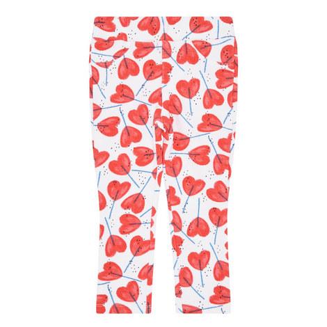 Heart Lolly Print Leggings Toddler, ${color}