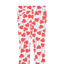 Heart Lolly Print Leggings Toddler