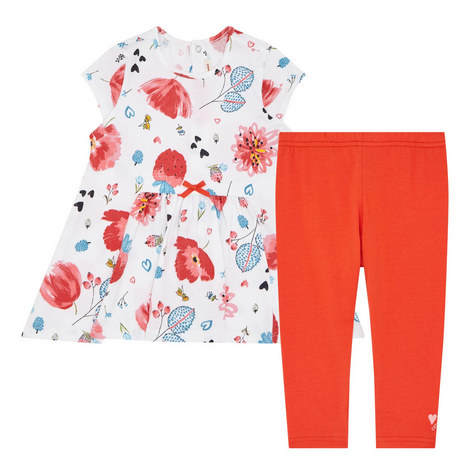 Printed Tunic and Leggings Set Baby, ${color}