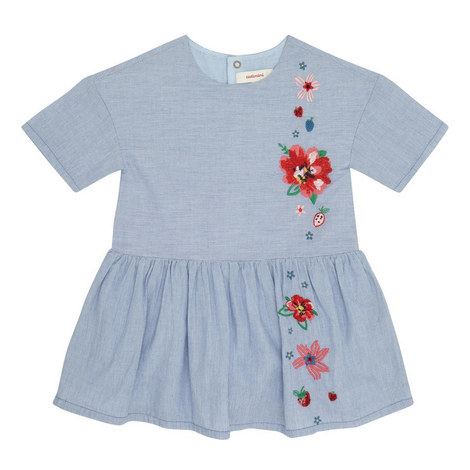 Chambray Floral Dress, ${color}
