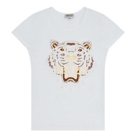 Tiger Logo T-Shirt Kids, ${color}