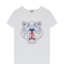 Tiger Logo T-Shirt Kids