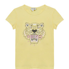 Tiger Logo T-Shirt Teens