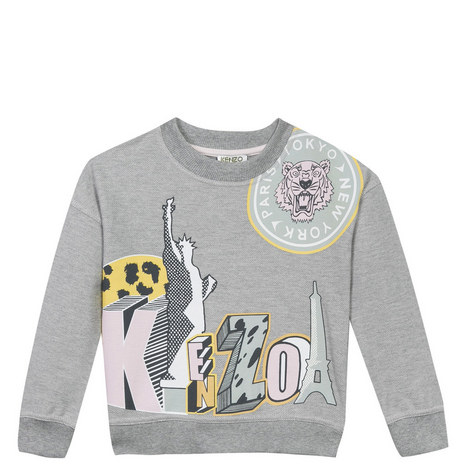 Bertille Print Sweatshirt Kids, ${color}