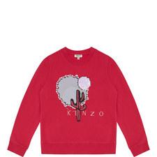 Logo Appliqué Sweatshirt Kids