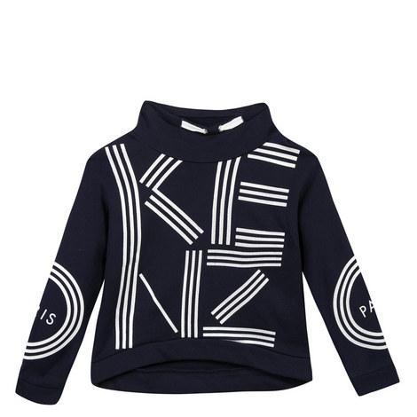 Logo Sweatshirt Teens, ${color}