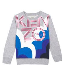 Bold Logo Sweatshirt Teens
