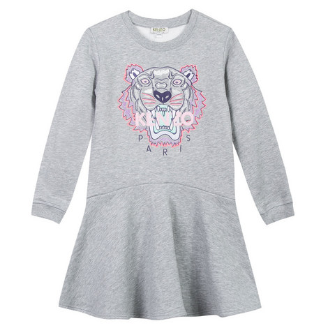 Roaring Tiger Sweater Dress Kids, ${color}