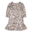 Clarice Tiger Stripe Dress, ${color}