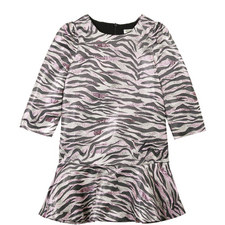 Clarice Tiger Stripe Dress