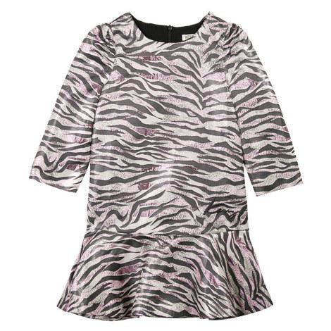 Clarice Drop Waist Dress Teens, ${color}