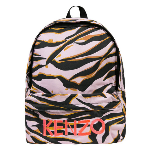 Tiger Print Backpack, ${color}