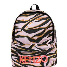 Tiger Print Backpack