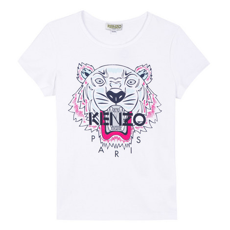 Embroidered Roaring Tiger T-Shirt, ${color}