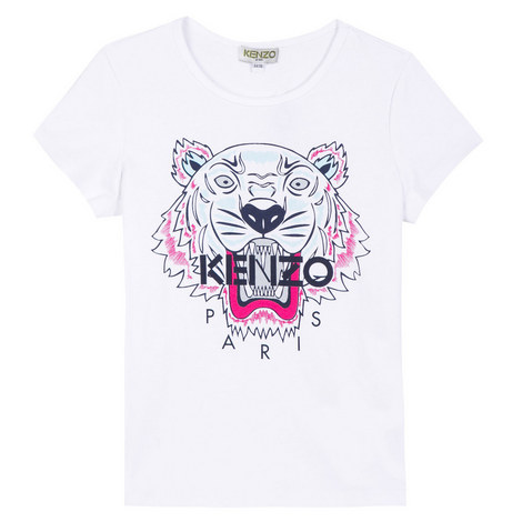 Roaring Tiger Embroidered T-Shirt Teens, ${color}