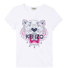 Roaring Tiger Embroidered T-Shirt Teens