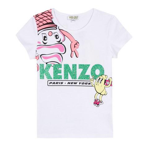 Ice-Cream T-Shirt Teen, ${color}