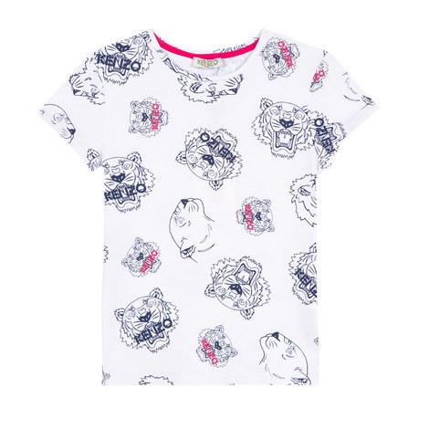 Tiger Head T-Shirt Kids, ${color}