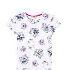 Tiger Head T-Shirt Kids