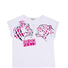 Slogan Tiger T-Shirt