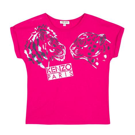 Slogan Tiger T-Shirt, ${color}