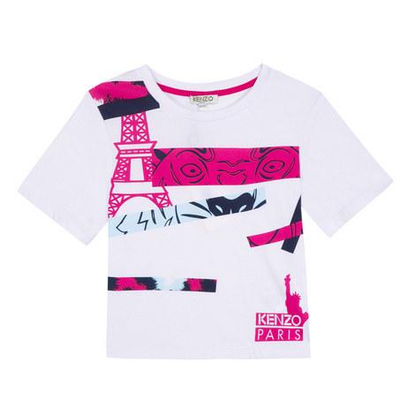 Slogan T-Shirt Kids, ${color}