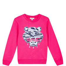Roaring Tiger Embroidered Sweatshirt