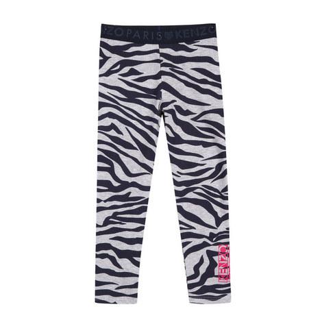 Tiger Print Legging Kids, ${color}