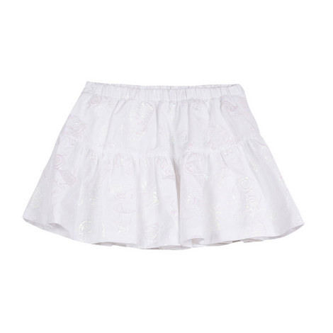 Embroidered Ice-Cream Skirt Teens, ${color}