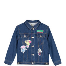 Food Fiesta Denim Jacket
