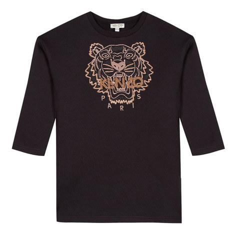 Tiger Sweatshirt Dress, ${color}