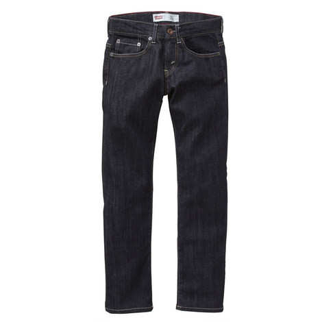 Dark Wash Slim Fit Jeans Kids, ${color}