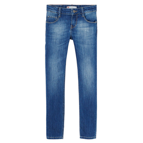 Mid-Wash Skinny Jeans Kids, ${color}