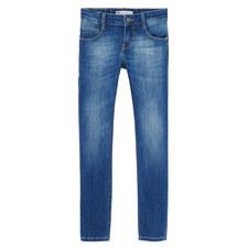 Mid-Wash Skinny Jeans Kids