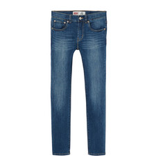510 Light Wash Skinny