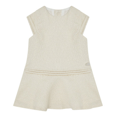 Cap Sleeve Lurex Dress Baby, ${color}