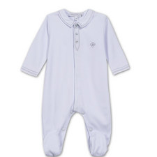 Buttoned Romper Baby