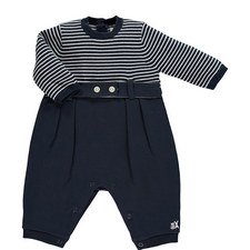 Striped Top Romper Baby