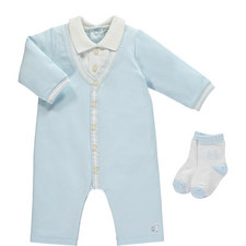 Romper and Socks Set Baby