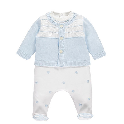 Lionel Romper and Cardigan Set Baby, ${color}