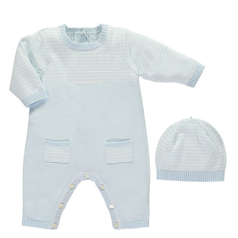 Leo Knitted Romper and Hat Set Baby, ${color}
