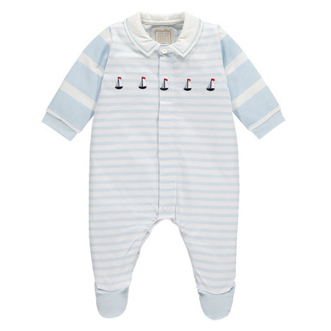 Mark Boat Romper Baby, ${color}