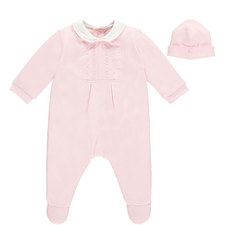 Mabel Romper and Hat Set Baby